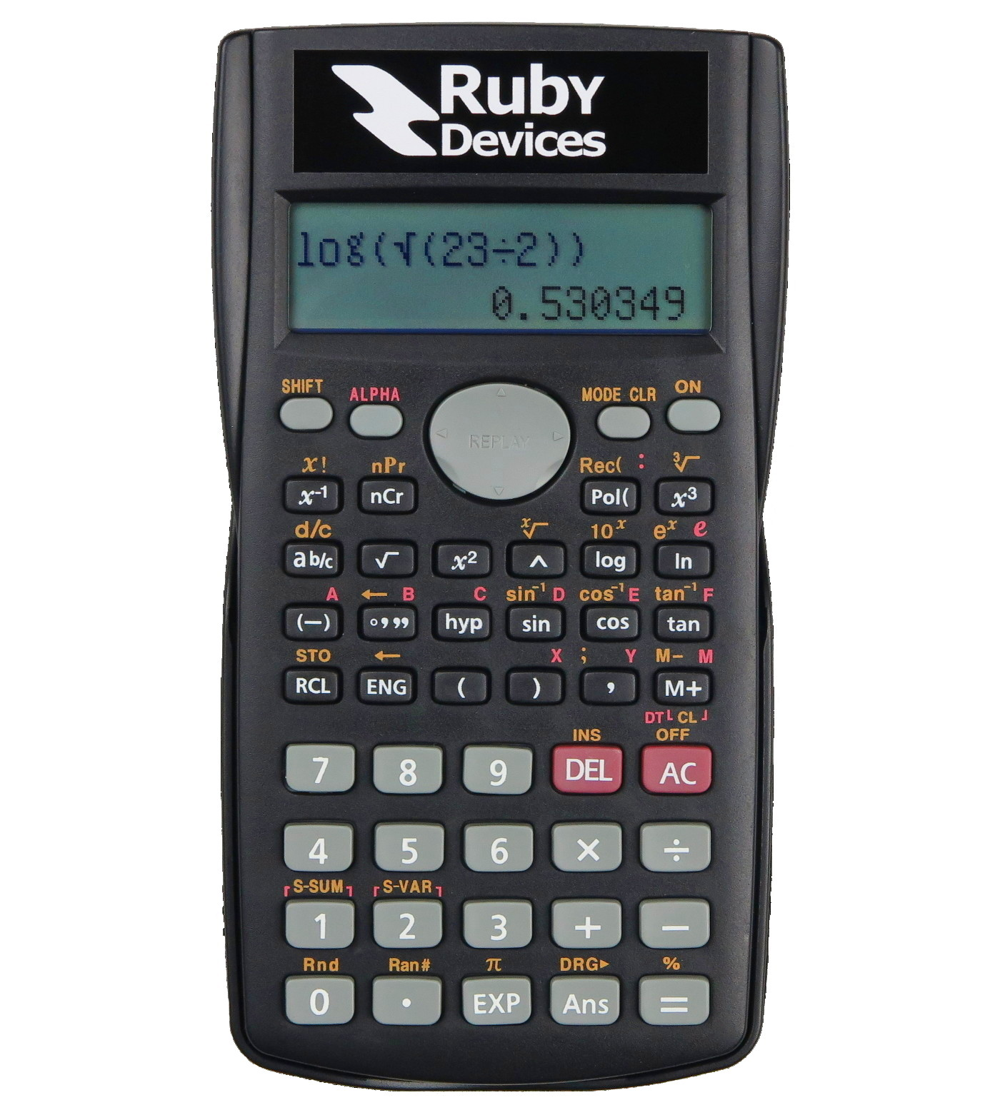 Ruby Device in Calculator Mode